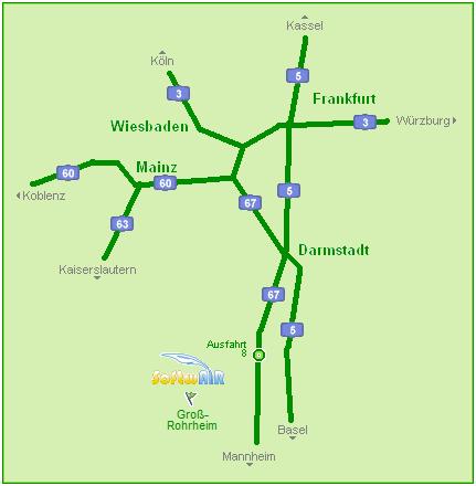 Autobahn-Übersicht