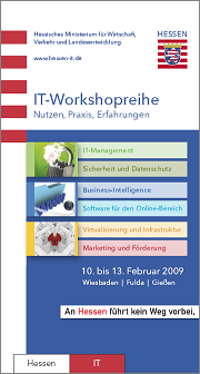 Workshopreihe 2009